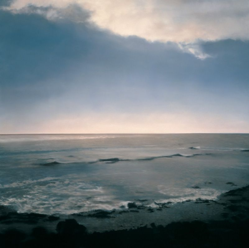 Gerhard Richter, Seascape, 1998